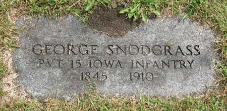 SNODGRASS, GEORGE - Linn County, Iowa | GEORGE SNODGRASS