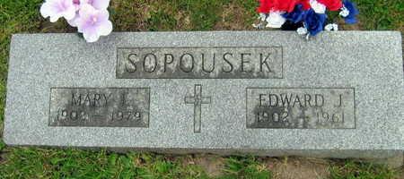 SOPOUSEK, EDWARD J. - Linn County, Iowa | EDWARD J. SOPOUSEK
