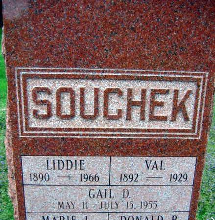 SOUCHEK, LIDDIE - Linn County, Iowa | LIDDIE SOUCHEK
