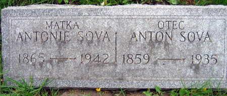 SOVA, ANTON - Linn County, Iowa | ANTON SOVA