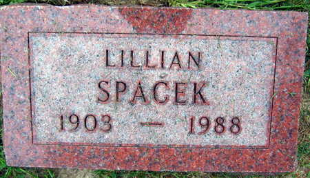 SPACEK, LILLIAN - Linn County, Iowa | LILLIAN SPACEK