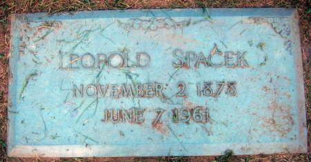 SPACEK, LEOPOLD - Linn County, Iowa   LEOPOLD SPACEK