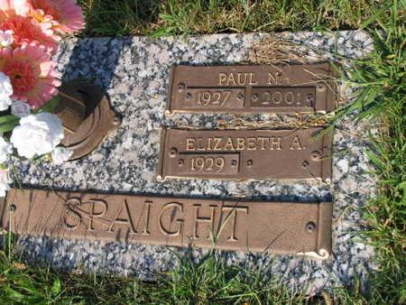 SPAIGHT, PAUL N. - Linn County, Iowa | PAUL N. SPAIGHT