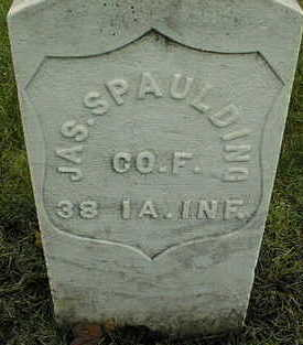 SPAULDING, JAMES - Linn County, Iowa | JAMES SPAULDING