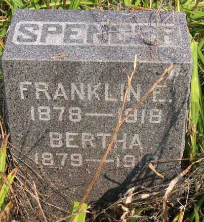 SPENCER, BERTHA - Linn County, Iowa | BERTHA SPENCER