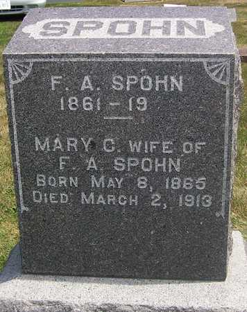 SPOHN, MARY - Linn County, Iowa | MARY SPOHN