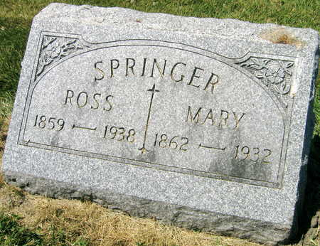 SPRINGER, ROSS - Linn County, Iowa | ROSS SPRINGER