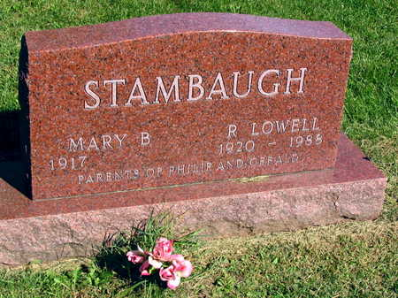 STAMBAUGH, R. LOWELL - Linn County, Iowa | R. LOWELL STAMBAUGH