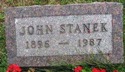 STANEK, JOHN - Linn County, Iowa | JOHN STANEK
