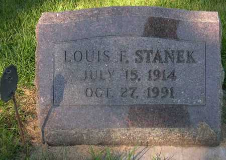 STANEK, LOUIS F. - Linn County, Iowa | LOUIS F. STANEK