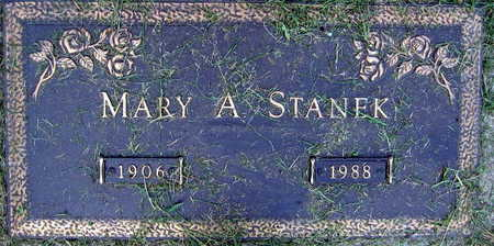 STANEK, MARY A. - Linn County, Iowa | MARY A. STANEK