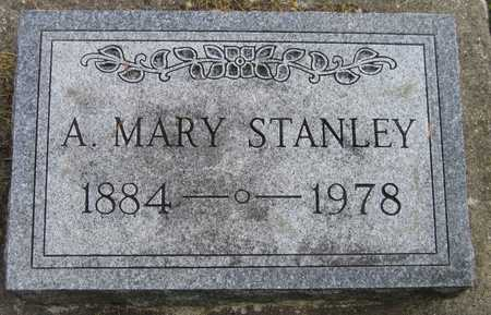 STANLEY, A. MARY - Linn County, Iowa | A. MARY STANLEY