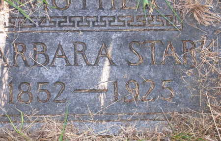 STARK, BARBARA - Linn County, Iowa | BARBARA STARK
