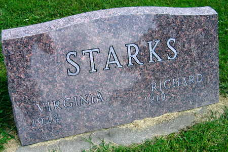 STARKS, VIRGINIA - Linn County, Iowa | VIRGINIA STARKS