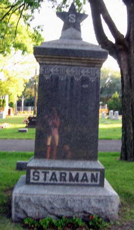 STARMAN, FAMILY STONE - Linn County, Iowa | FAMILY STONE STARMAN