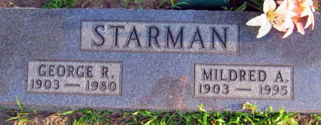 STARMAN, MILDRED A. - Linn County, Iowa | MILDRED A. STARMAN