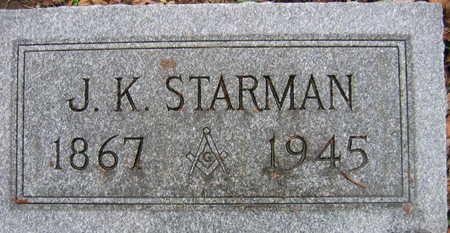 STARMAN, J. K. - Linn County, Iowa | J. K. STARMAN