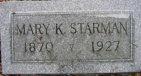 STARMAN, MARY J. - Linn County, Iowa | MARY J. STARMAN