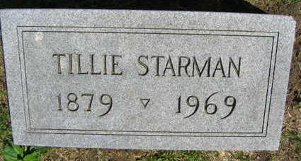 STARMAN, TILLIE - Linn County, Iowa | TILLIE STARMAN