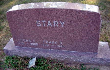 STARY, FRANK R. - Linn County, Iowa | FRANK R. STARY