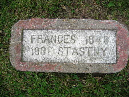 STASTNY, FRANCES - Linn County, Iowa | FRANCES STASTNY