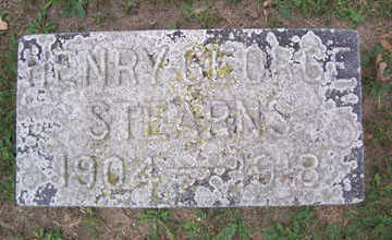 STEARNS, HENRY GEORGE - Linn County, Iowa | HENRY GEORGE STEARNS