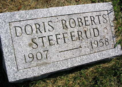 ROBERTS STEFFERUD, DORIS - Linn County, Iowa | DORIS ROBERTS STEFFERUD