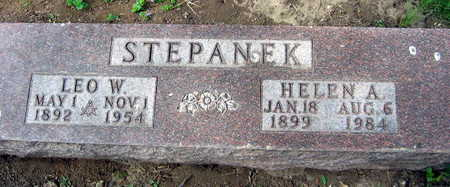 STEPANEK, HELEN A. - Linn County, Iowa | HELEN A. STEPANEK