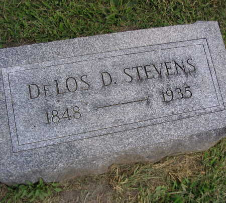 STEVENS, DELOS D. - Linn County, Iowa | DELOS D. STEVENS
