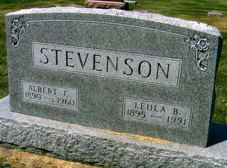 STEVENSON, LEULA B. - Linn County, Iowa | LEULA B. STEVENSON