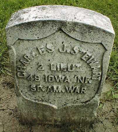 STEWART, CHARLES J. - Linn County, Iowa | CHARLES J. STEWART