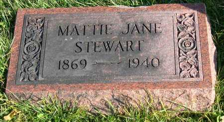 STEWART, MATTIE JANE - Linn County, Iowa | MATTIE JANE STEWART