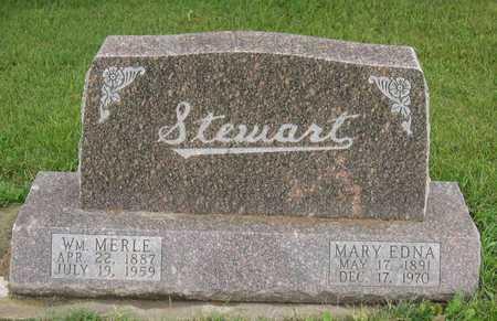 STEWART, WM. MERLE - Linn County, Iowa | WM. MERLE STEWART