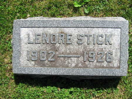 STICK, LENORE - Linn County, Iowa | LENORE STICK
