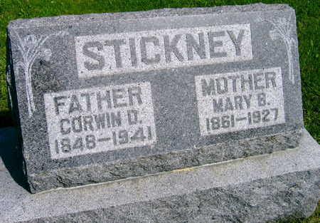 STICKNEY, MARY B. - Linn County, Iowa | MARY B. STICKNEY