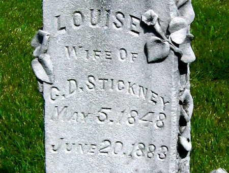 STICKNEY, LOUISE - Linn County, Iowa | LOUISE STICKNEY
