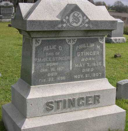 STINGER, ALLIE D. - Linn County, Iowa | ALLIE D. STINGER