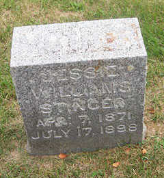 WILLIAMS STINGER, JESSIE - Linn County, Iowa | JESSIE WILLIAMS STINGER