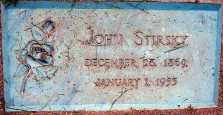 STIRSKY, JOHN - Linn County, Iowa | JOHN STIRSKY