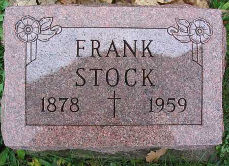 STOCK, FRANK - Linn County, Iowa | FRANK STOCK