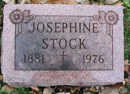 STOCK, JOSEPHINE - Linn County, Iowa | JOSEPHINE STOCK