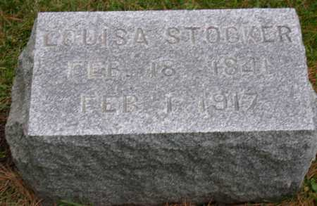STOCKER, LOUISA - Linn County, Iowa | LOUISA STOCKER