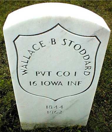 STODDARD, PVT. WALLACE B. - Linn County, Iowa | PVT. WALLACE B. STODDARD