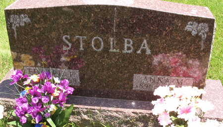 STOLBA, EDWARD F. - Linn County, Iowa | EDWARD F. STOLBA