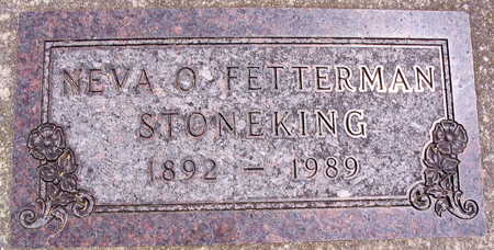 FETTERMAN STONEKING, NEVA O. - Linn County, Iowa | NEVA O. FETTERMAN STONEKING