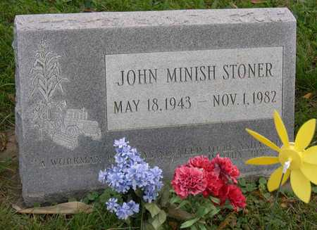 STONER, JOHN MINISH - Linn County, Iowa | JOHN MINISH STONER