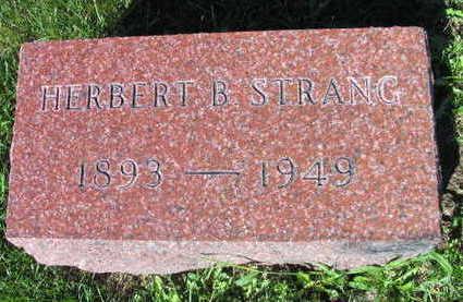STRANG, HERBERT  B. - Linn County, Iowa | HERBERT  B. STRANG