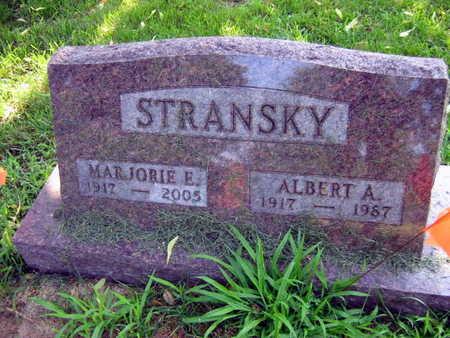 STRANSKY, ALBERT A. - Linn County, Iowa | ALBERT A. STRANSKY