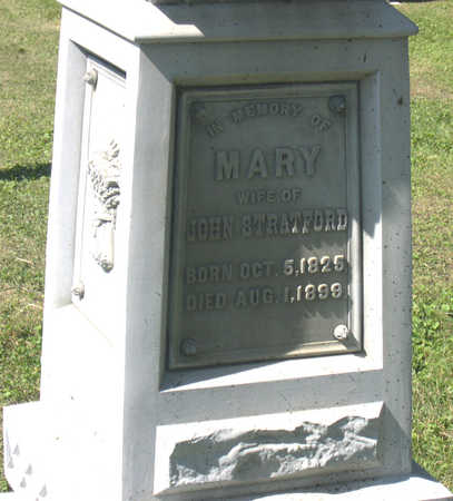 STRATFORD, MARY - Linn County, Iowa | MARY STRATFORD