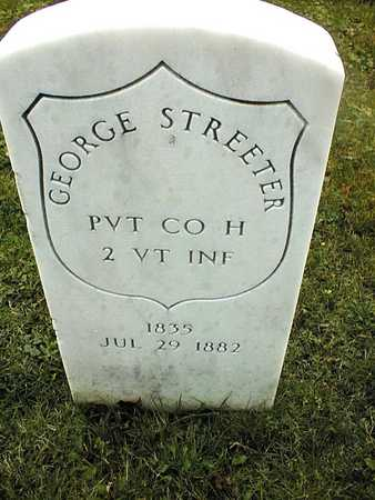 STREETER, PVT. GEORGE - Linn County, Iowa | PVT. GEORGE STREETER